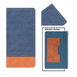 Huawei P9 Lite Mini Toppkvalitet Mobilplånbok -Blå Blue