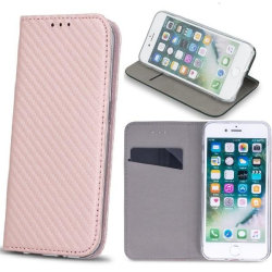 Huawei P9 Lite Mini - Toppkvalitet Mobilplånbok - Rose Gold PinkGold