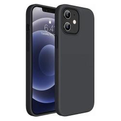 iPhone 12 Mini - Silicon TPU Mjuk Skal - Svart Svart