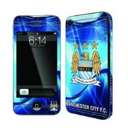 Officiella FC Skins För iPhone 4/4s - Manchester City FC Blå