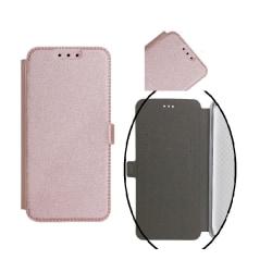 Samsung A6 (2018) - Smart Pocket Fodral Mobilplånbok - Roseguld Rosa guld