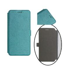 Samsung A6 (2018) - Smart Pocket Fodral Mobilplånbok - Turkos Turkos