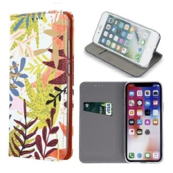 Samsung A6 Plus (2018) - Smart Trendy Autumn Mobilplånbok Träd