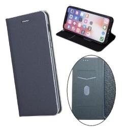 Samsung A6 Plus (2018) - Smart Venus Mobilplånbok - blå Blå