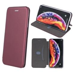 Samsung Galaxy A02s - Smart Diva Mobilplånbok - Vinröd Vin, röd