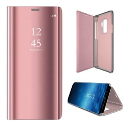 Samsung Galaxy A12 - Smart Clear View Fodral - Rosa Rosa