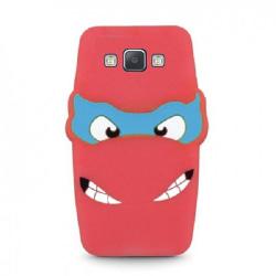 Samsung Galaxy A5 (2015) - 3D Silikonskydd Skal - Röd Röd