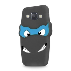 Samsung Galaxy A5 (2015) - 3D Silikonskydd Skal - Svart Svart