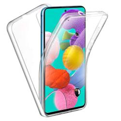 Samsung Galaxy A71 - 360 Full Body Transparent Gel Skal Transparent