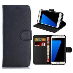 Sony Xperia 5 II - Book Case Fodral Mobilplånbok - Svart Svart