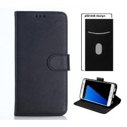 Sony Xperia E4 - Fodral Mobilplånbok - Svart Svart