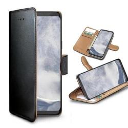 Sony Xperia XZ1 - Celly Wally Mobilplånbok - Svart Black