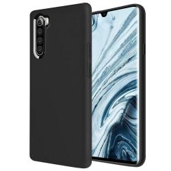 Xiaomi Mi Note 10 Lite - Silicon TPU Mjuk Skal - Svart Black