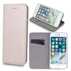 Xiaomi Mi Note 10 - Smart Magnetic Mobilplånbok - RosaGuld PinkGold