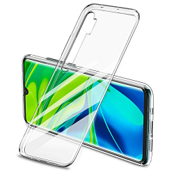 Xiaomi Mi Note 10 - Transparent Slim Skal  Transparent