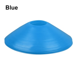 5pcs Speed Training Disc Space Marker Cone Cross Track BLUE