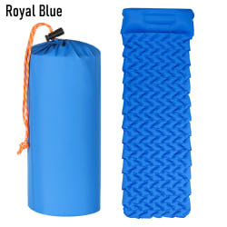 Camping Sleeping Pad Mat with Pillow ROYAL BLUE