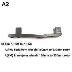 Skivbromsadapter PM / IS-omvandlare A till B A2