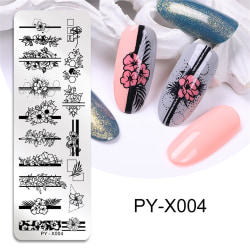 Spikstämplingsmallar Geometrisk design PY-X004