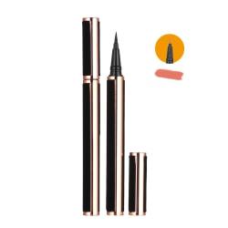 Uppgraderad självhäftande Eyeliner 2 i 1 Eye Liner Pen ORANGE