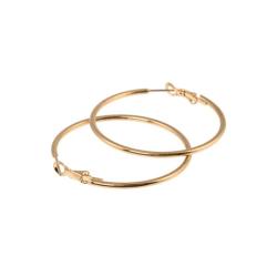 Stålörhängen, i guld ringar från Lotta Design