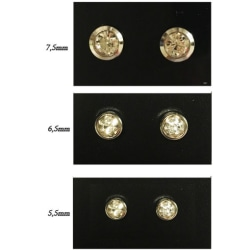 Magnet örhängen med stenar 5,5mm