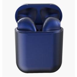 i12 TWS Trådlösa trådlösa hörlurar för alla Bluetooth V5.0 Blå