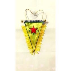 Kurdistan Flagga YPG