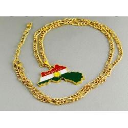Kurdistan kartan halsband