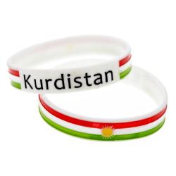 Kurdistan silikonarmband