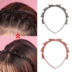 Double Bangs Hairstyle Hairpin Hair Band Headband