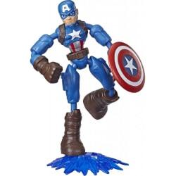Captain America, Avengers, Bend and Flex figur