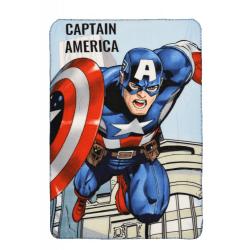 Captain America filt pläd