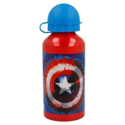Captain America, vattenflaska i aluminium 400ml