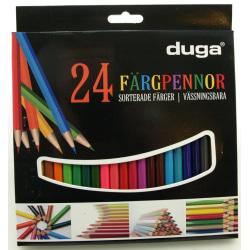 Färgpennor Duga (24-pack)