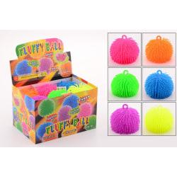 Fluffy stressboll tilll lek och avkoppling, 10 cm
