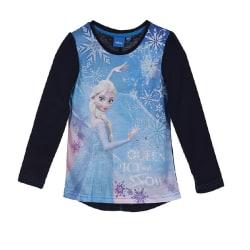 Frost Långärmad T-shirt med pärlor barn Marinblå 4 ÅR - 104 cm