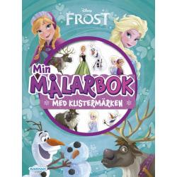 Frost målarbok med klistermärken