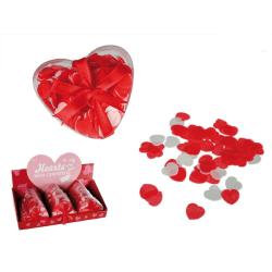 Hjärtformad konfetti som även fungerar i badet!