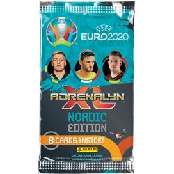UEFA Euro 2020 Kick Off 2021 Booster fotbollskort samlarkort