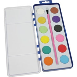 Vattenfärg och målarpensel