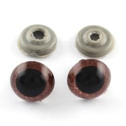 """10 par (20 st) bruna10 mma ögon till """"Amigurumi""""10mm Ø"""