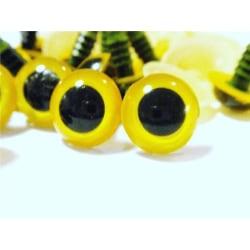 """10 par (20 st) Gula ögon till """"Amigurumi""""10mm Ø"""