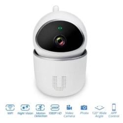 ViNkasmart CCTV kamera 1080P med larm wifi röststyrning