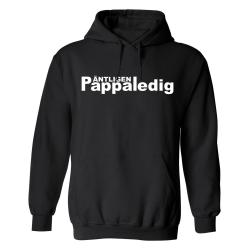 Äntligen Pappaledig - Hoodie / Tröja - HERR Svart - XL