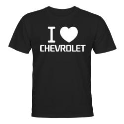 Chevrolet - T-SHIRT - HERR Svart - L