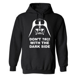 Darth Vader Dont Fuck With The Dark Side - Hoodie / Tröja - HERR Svart - M
