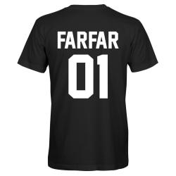 Farfar 01 - T-SHIRT - HERR Svart - L