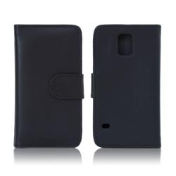 Galaxy S5 plånboksfodral svart