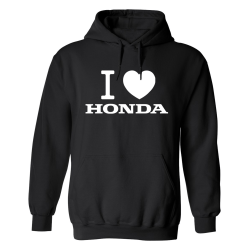 Honda - Hoodie / Tröja - HERR Svart - 2XL